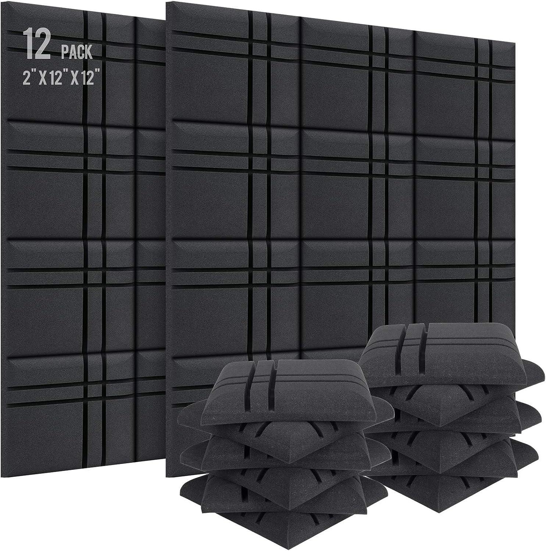 Mandzixin Sound Proof Foam Panels 2