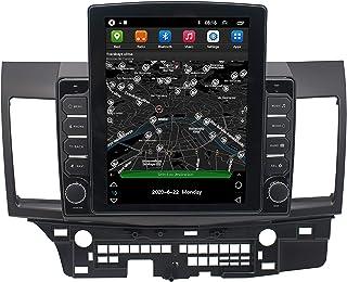 GOLOFEA 24,6 cm (9,7 inch) SAT NAV met Bluetooth handsfree, live verkeer en camera, geschikt voor Mitsubishi Evo