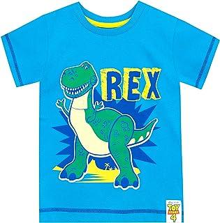 Disney Camiseta de Manga Corta para niños Toy Story Rex