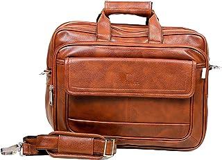 MUPKINO Mens Leather 16 2 Inch Office Bag macbook pro macbook air bag