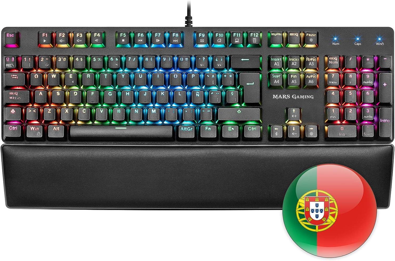 Mars Gaming Mrk0 Gaming Antighosting Tastatur Rgb Computer Zubehör