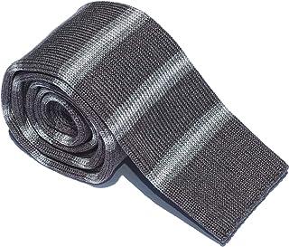 Neweave MILANO - Cravatta a maglia, 100% COTONE a righe, MADE IN ITALY