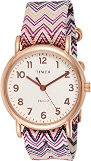 Timex Casual Watch For Women analog Nylon - TW2R59000