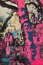 ملصق مطبوع عليه صورة فنية للموسيقيين من بايرتفورليس كريدنس كليرووتر ريفايفل - Trippy Woods مقاس 36×24 باللون الأحمر والأزر...