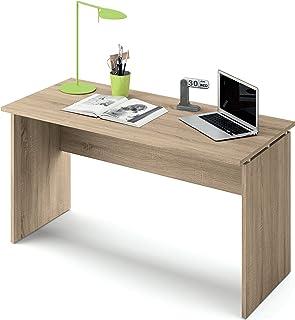 Abitti Escritorio Mesa de Ordenador Multimedia Color Cambrian para despacho Oficina o Estudio Grosor 22MM. 120cm Ancho x...