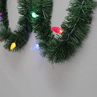 Best pre lit led garland outdoor Reviews