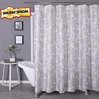 Best teal paisley shower curtain Reviews
