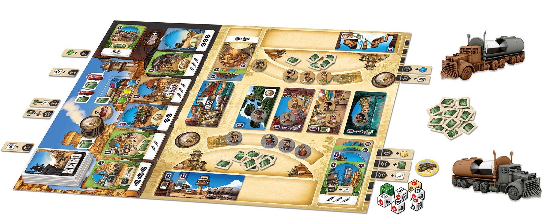 Asmodee- Kero - Español, One Size (HUKE0001): Amazon.es: Juguetes y juegos