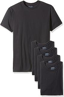 Gildan Platinum Mens 5-Pack Crew Neck T-Shirt Short Sleeve Undershirt