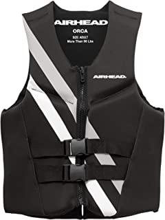 Airhead Orca Life Jacket PFD Made of Soft Kwik-Dry Neolite Material