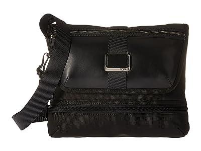 Tumi Alpha Bravo Travis Crossbody (Black) Cross Body Handbags