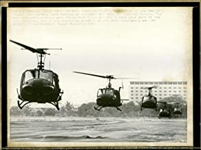 Vintage photo of Bell UH-1 Huey