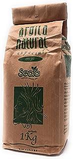 Arcilla Natural Verde Especial, en Polvo, Para Cuerpo y Rostro, French Green Clay, Antiestrés, Relajante, Exfoliante y Lim...