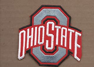 New 3 1/2 X 3 5/8 INCH Ohio State Buckeyes Iron ON Patch