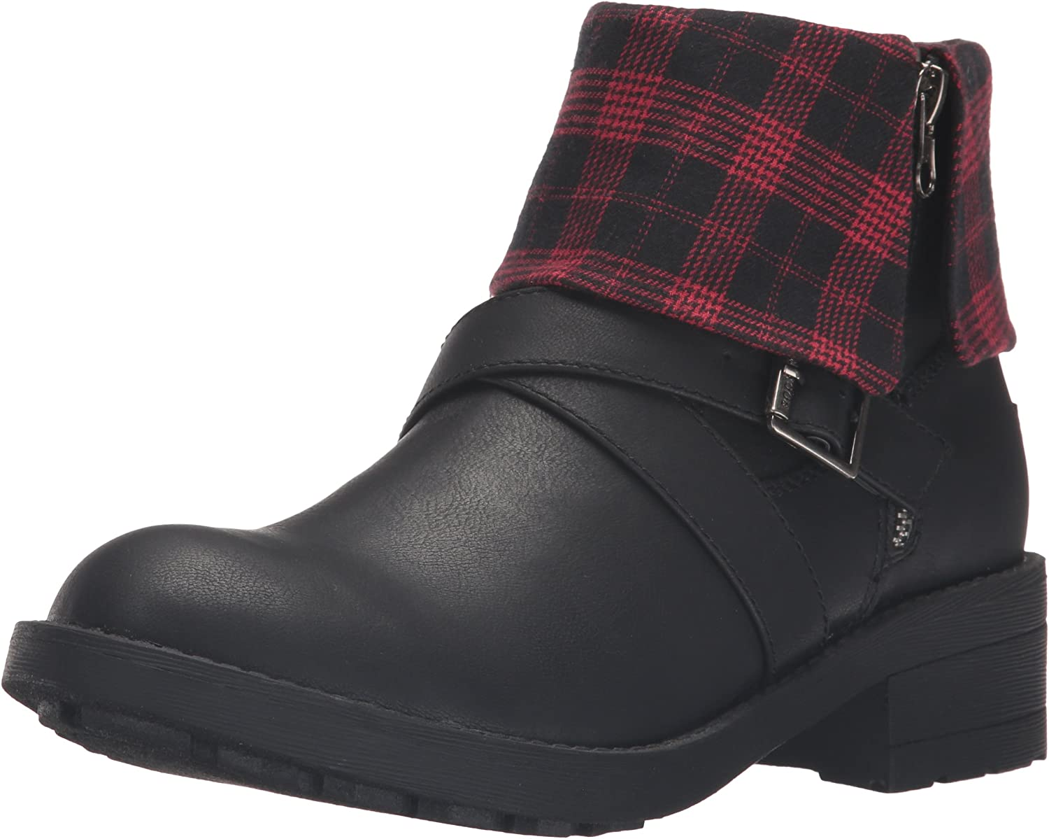 Rocket Dog Womens Tobie Lewis Pu - Altan Cotton Ankle Bootie