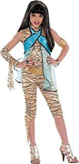 Monster High Cleo de Nile Halloween Costume Deluxe for Girls, Medium, with Included Accessories, by Amscan