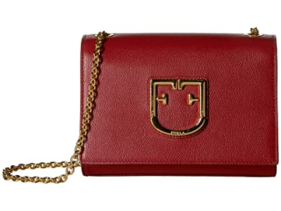 Furla Viva Mini Pochette (Ciliegia) Cross Body Handbags