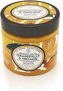 Tropical Fruits - Luxury Sugar Body Scrub - Grapefruit & Orange, SLES & Paraben Free - 550 g / 19.4 oz