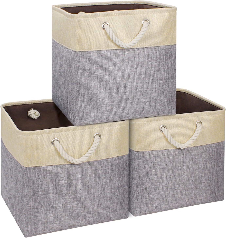 Syeeiex Sale Large Superlatite Storage Cube Durable 13''x13'' Basket for