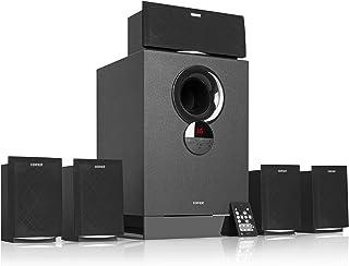 5.1 speaker system with BT,Remote Control,Digital Display,Black (R501BT)