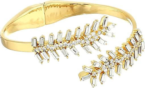 12K Soft Polish Gold/Crystal