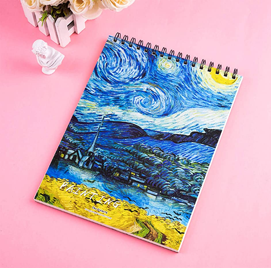 Moon Sketch Pad Drawing Pad 8