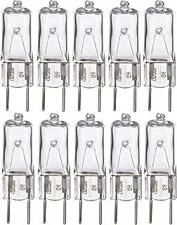Simba Lighting Halogen Light Bulb G8 T4 50W JCD Bi-Pin (10 Pack) Longer 1.75