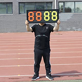 soccer substitution board display