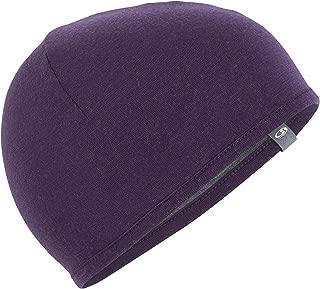 Icebreaker Merino Kids Pocket Hat, Medium, Eggplant/Gritstone Heather