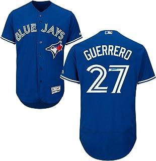 5cd25204f Frameworth Vladimir Guerrero Jr. Signed Jersey Blue Jays Replica Blue -  Autographed MLB Jerseys