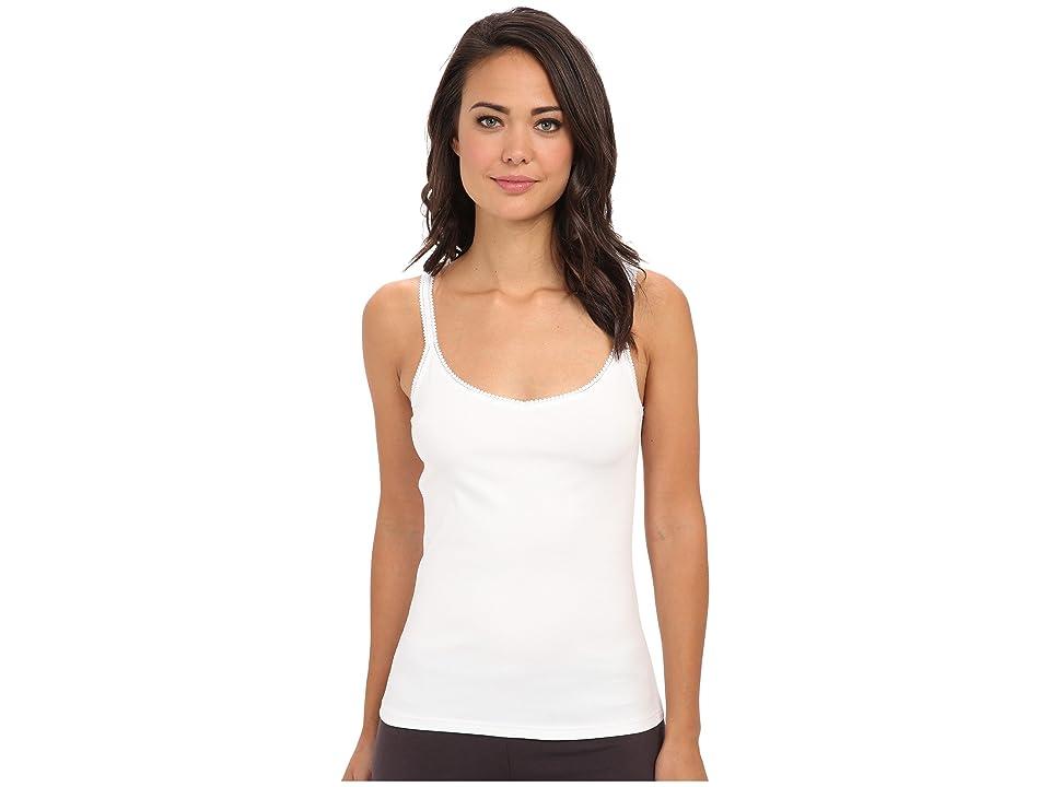 OnGossamer Cabana Cotton Reversible Camisole (White) Women