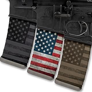 Rapid Wraps Mag Wraps - Patriot Flag Colors Set (3 Pack-COLOR/FDE/Blk)