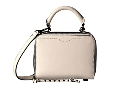 Rebecca Minkoff Box Crossbody (Antique White) Cross Body Handbags