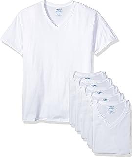 Gildan Platinum Men's 6-Pack V-Neck T-Shirt