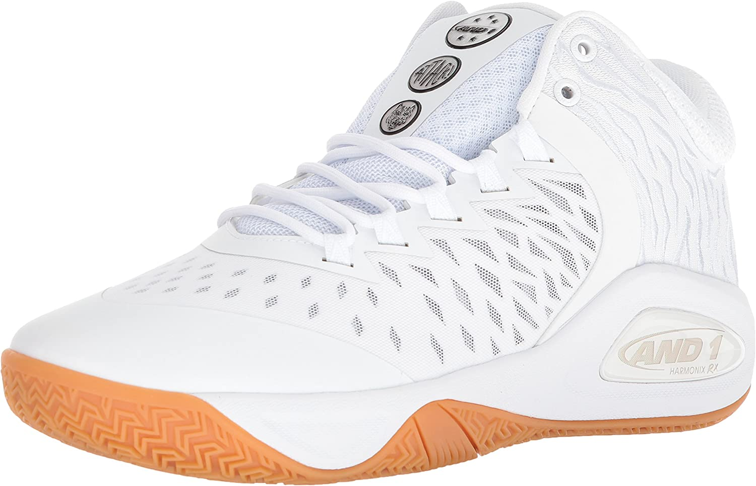 AND1 Men's Attack Mid Basketball shoes