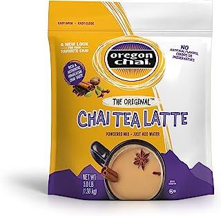 Oregon Chai The Original Chai Tea Latte Mix 3 Pound, Bulk Powdered Spiced Black Tea Latte Mix For Home Use, Café, Food Ser...
