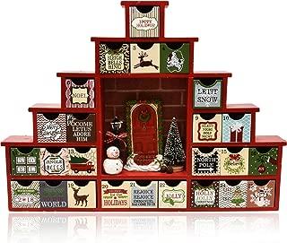 Wooden Advent Calendar Christmas Countdown 12