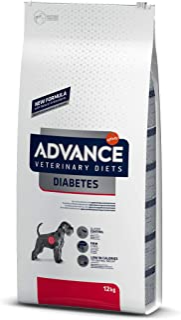 ADVANCE Veterinary Diets Diabetes - Pienso Para Perros Adultos Con Problemas de Diabetes y/o Colitis - 12 kg