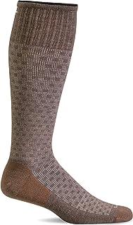 Sockwell Men's Shadow Box Moderate Graduated Compression Socks