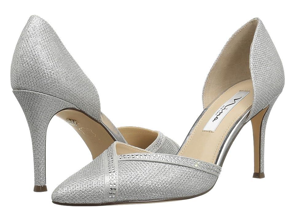 Nina Diora (Silver Dreamland) High Heels