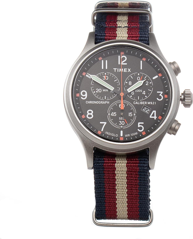 Reloj TIMEX TW2V10200LG Negro Hombre
