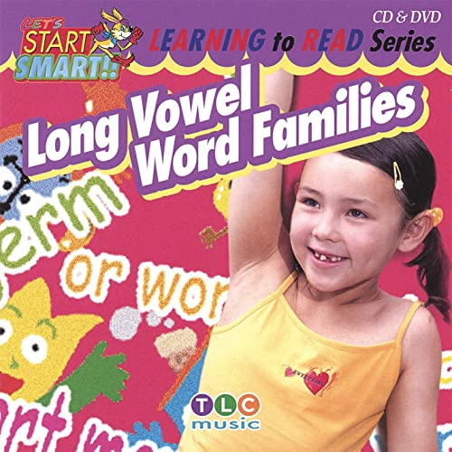 Long Vowel Word Families Cd & Dvd By Let's Start Smart On