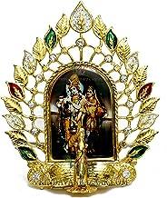 VRINDAVANBAZAAR.COM Radha Krishna Deepmandir Peacock showpiece