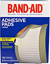 BAND-AID Adhesive Pads Comfort-Flex Large 10 Each (Pack of 2)