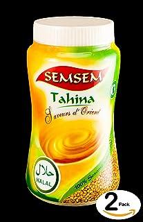 (2本)タヒニ 白胡麻ペースト 400g【ハラル認証】Halal Sesame Paste/Tahina/Tahini 白和え タヒーナ ホムス Middle Eastern Foods