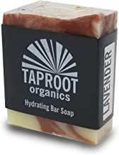 Taproot Organics - Cold Process Lavender Bar Soap for Body and Face Handmade for Sensitive Skin with Organic and Food Grade Ingredients. (Vegan)