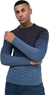 Crosshatch Men's Jumper RAYFARE Navy 2X Large