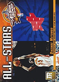 2000-01 Topps Reserve All-Stars Game Jersey #TAS8 Dikembe Mutombo Atlanta Hawks