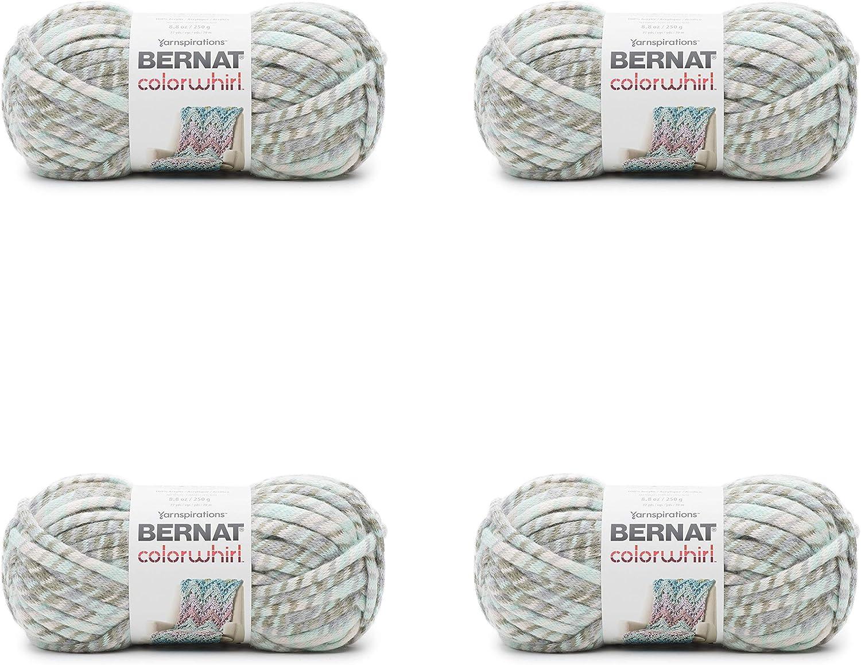 BERNAT colorWhirl Pack of 4 balls250g Each BallSeascape