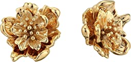 3D Flower Stud Earrings